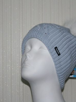Женская шапка Chantal Fur Crystal - фото 3
