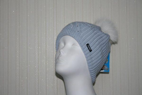 Женская шапка Chantal Fur Crystal - фото 1
