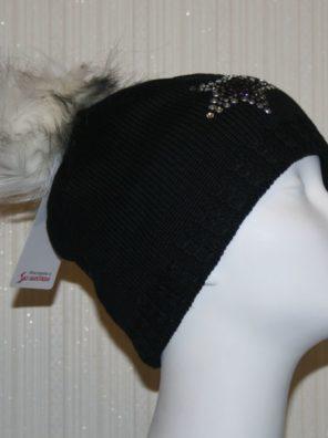Женская шапка Selina Lux Crystal - фото 5