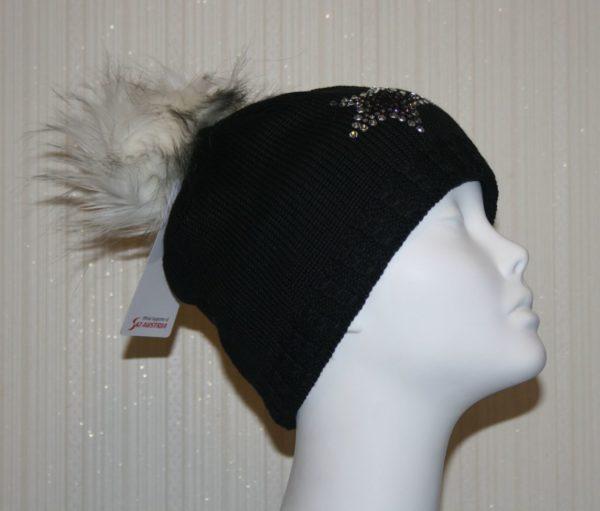 Женская шапка Selina Lux Crystal - фото 1