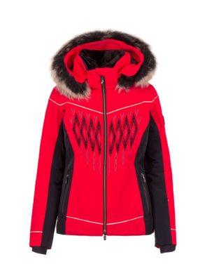 Женская куртка Amelia с мехом - фото 3