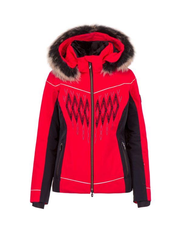 Женская куртка Amelia с мехом - фото 1