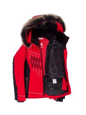Женская куртка Amelia с мехом - фото 4