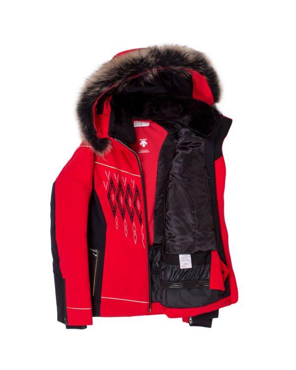 Женская куртка Amelia с мехом - фото 2