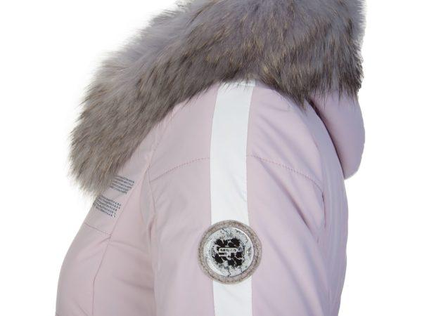 Женская куртка с мехом KIRANA 87190-72 - фото 9