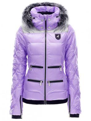 Женская куртка с мехом CLEO - фото 3