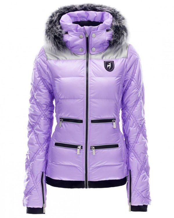 Женская куртка с мехом CLEO - фото 1
