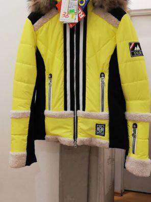 Женская куртка с мехом 11125-61 - фото 7