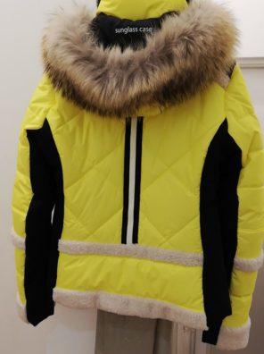 Женская куртка с мехом 11125-61 - фото 18