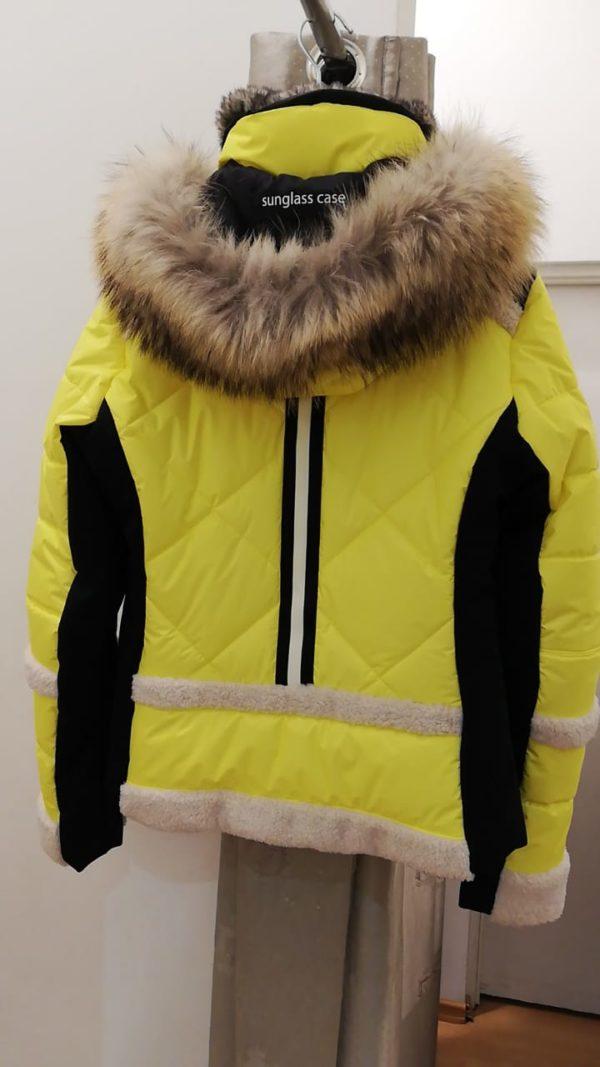 Женская куртка с мехом 11125-61 - фото 2
