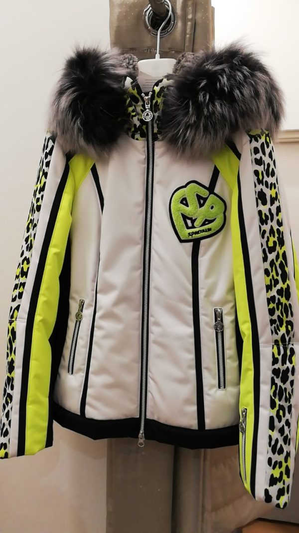 Женская куртка с мехом 92191-60 - фото 1