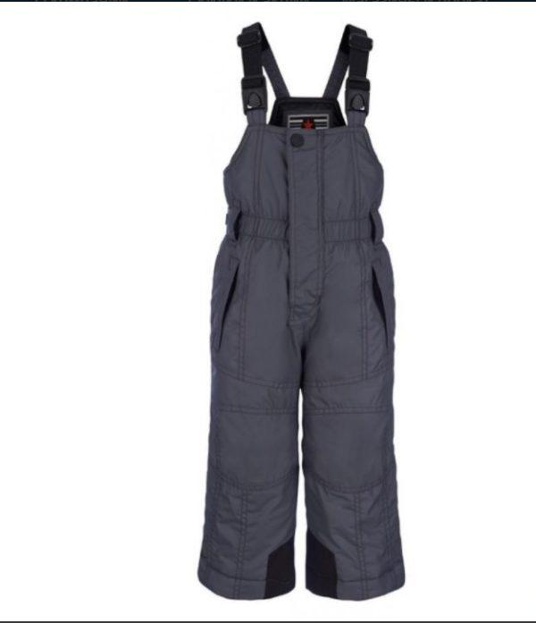 Детские брюки для мальчика серые - фото 1