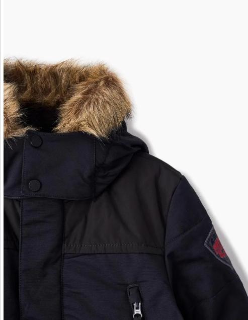 Детская куртка для мальчика W18-2510-JRBY - фото 2