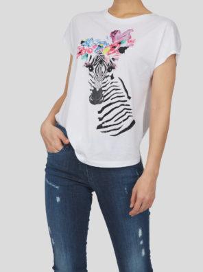 Женская футболка 17719-01 - фото 16