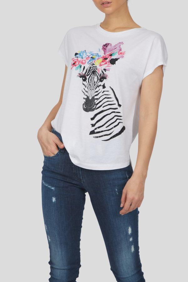 Женская футболка 17719-01 - фото 2