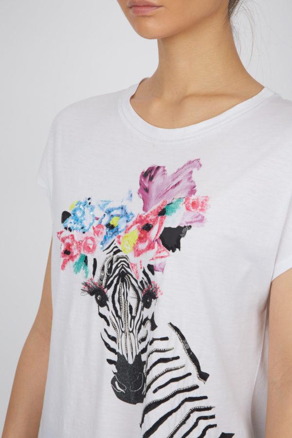 Женская футболка 17719-01 - фото 4