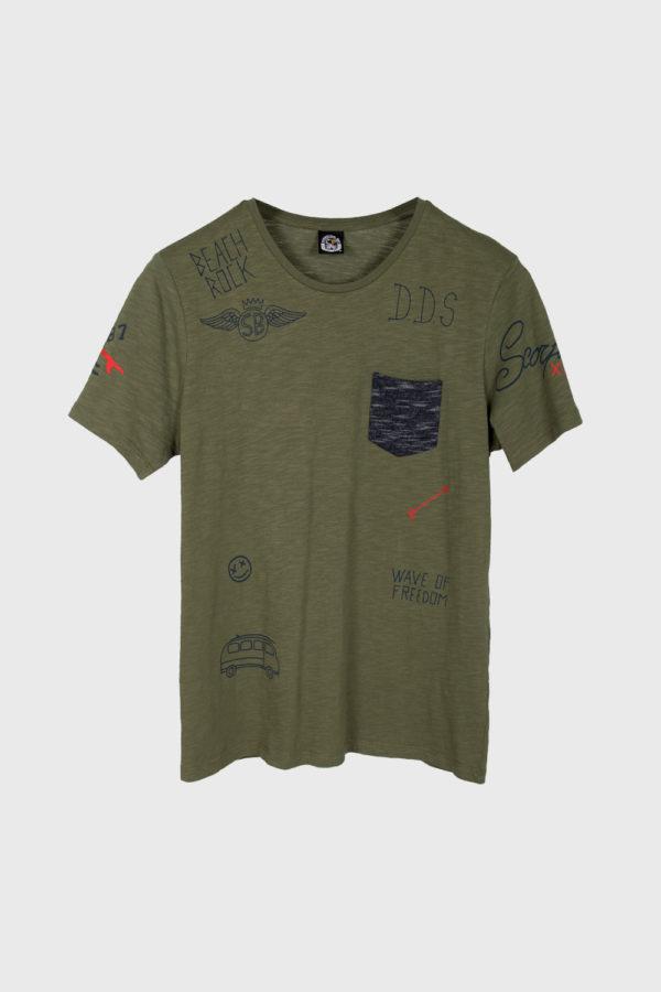 Мужская футболка Scorpion Bay MTE3925-36 - фото 1