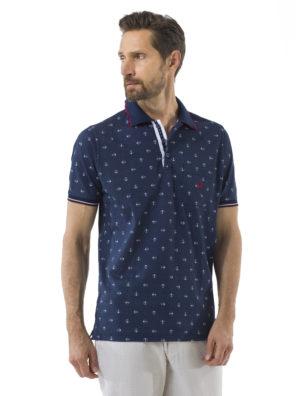 Мужская футболка-поло А307 - фото 10