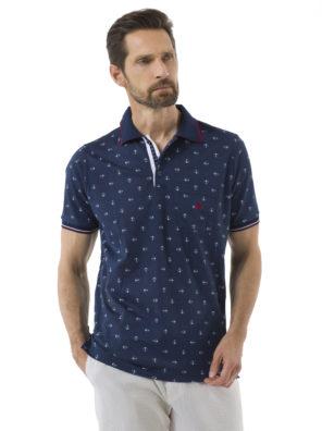 Мужская футболка-поло А307 - фото 9