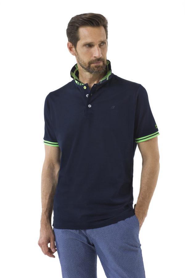 Мужская футболка-поло А358 - фото 1