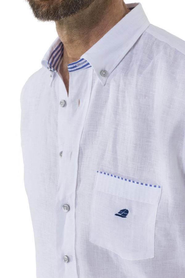 Мужская рубашка С830 - фото 3