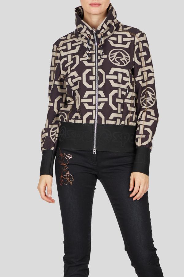 Женская спортивная куртка 23052-59 - фото 2