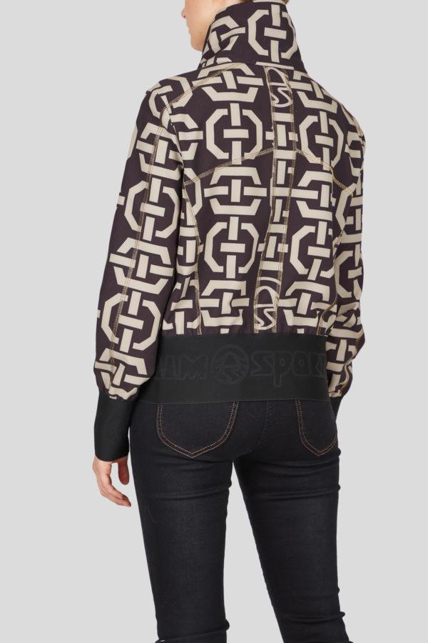 Женская спортивная куртка 23052-59 - фото 4