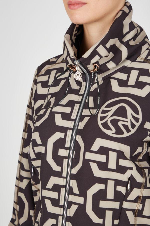 Женская спортивная куртка 23052-59 - фото 3